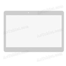 Digitizer Touch Screen Replacement for Excelvan BT-MT10 10.1 Inch HD Dual Core 3G Phablet PC