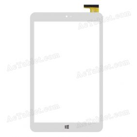 HOTATOUCH HC205119F1 FPC V1.0 Digitizer Glass Touch Screen Replacement for 8 Inch MID Tablet PC
