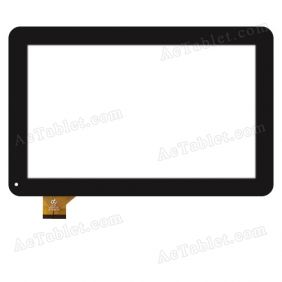 HK10DR2720 Digitizer Glass Touch Screen Replacement for 10.1 Inch MID Tablet PC