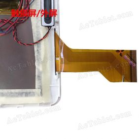 MJK-0591-FPC Digitizer Glass Touch Screen Replacement for 9.6 Inch MID Tablet PC