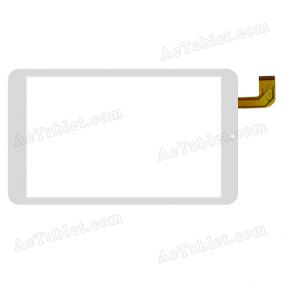 C.FPC.WT1088A080V01 Digitizer Glass Touch Screen Replacement for 8 Inch MID Tablet PC
