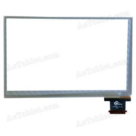 GT70NQ0135-FPC HXS Digitizer Glass Touch Screen Replacement for 7 Inch MID Tablet PC