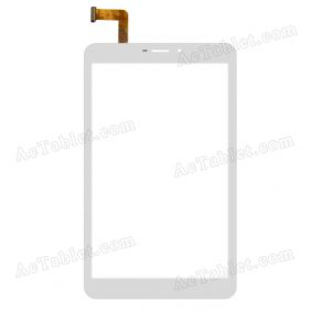 GT80PGMR801 Digitizer Glass Touch Screen Replacement for 8 Inch MID Tablet PC