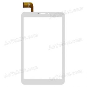 DP080047-F1 V1.0 Digitizer Glass Touch Screen Replacement for 8 Inch MID Tablet PC