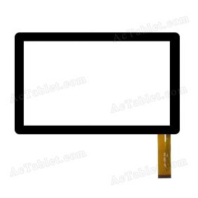 P031FN10867A VER.00 Digitizer Glass Touch Screen Replacement for 7 Inch MID Tablet PC