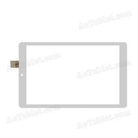 DXP2J1-0552-080B-FPC Digitizer Glass Touch Screen Replacement for 10.1 Inch MID Tablet PC