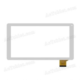 CN100FPC-V1 Digitizer Glass Touch Screen Replacement for 10.1 Inch MID Tablet PC