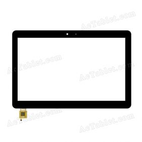 FPC-FC101J132(1.8V)-00 Digitizer Glass Touch Screen Replacement for 10.1 Inch MID Tablet PC