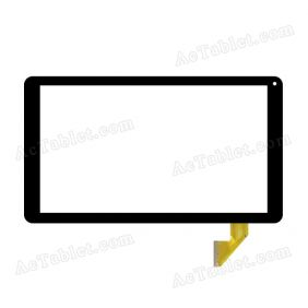 CN88FPC-V2 Digitizer Glass Touch Screen Replacement for 10.1 Inch MID Tablet PC