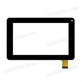 CN065 FPC-V0 Digitizer Glass Touch Screen Replacement for 7 Inch MID Tablet PC