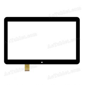 DXP2-0289-101A-FPC Digitizer Glass Touch Screen Replacement for 10.1 Inch MID Tablet PC