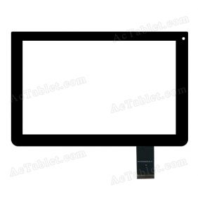 NJG101026AGGLB-V1 Digitizer Glass Touch Screen Replacement for 10.1 Inch MID Tablet PC