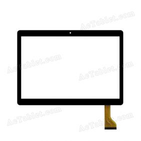 DH-1069A3-PG-FPC252-V3.0 Digitizer Glass Touch Screen Replacement for 10.1 Inch MID Tablet PC
