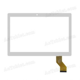 FPC-DP101035-F1 Digitizer Glass Touch Screen Replacement for 10.1 Inch MID Tablet PC