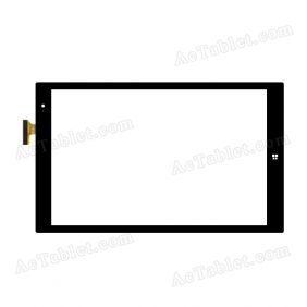 HK10DR2810 Digitizer Glass Touch Screen Replacement for 10.1 Inch MID Tablet PC