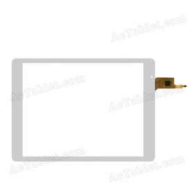 OLM-097D1348-FPC Digitizer Glass Touch Screen Replacement for 9.7 Inch MID Tablet PC