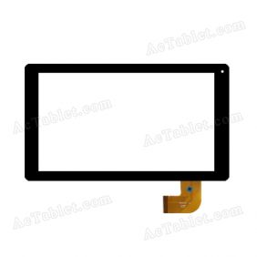 P031FN10776B Digitizer Glass Touch Screen Replacement for 10.1 Inch MID Tablet PC