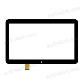 RP-400A-10.1-FPC-A3 Digitizer Glass Touch Screen Replacement for 10.1 Inch MID Tablet PC