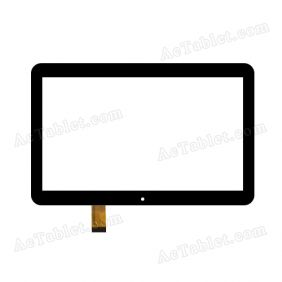 ZJ-10029A Digitizer Glass Touch Screen Replacement for 10.1 Inch MID Tablet PC