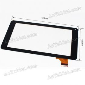 XC-PG0700-152-A0-FPC Digitizer Glass Touch Screen Replacement for 7 Inch MID Tablet PC