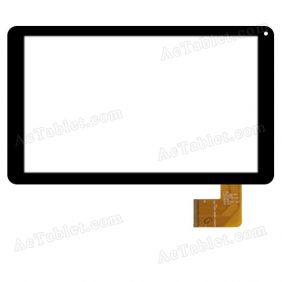 DXP2J1-0580-101A-FPC Digitizer Glass Touch Screen Replacement for 10.1 Inch MID Tablet PC