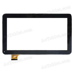 WJ608-V2.0 Digitizer Glass Touch Screen Replacement for 10.1 Inch MID Tablet PC