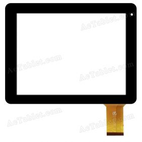 HK80DR2385 Digitizer Glass Touch Screen Replacement for 8 Inch MID Tablet PC