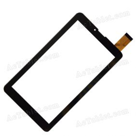 GB07013-FPC-V02 Digitizer Glass Touch Screen Replacement for 7 Inch MID Tablet PC