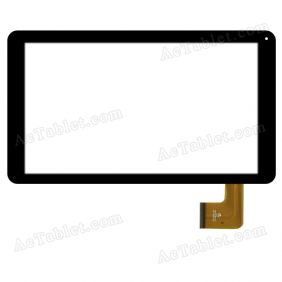 HK10DR2729 Digitizer Glass Touch Screen Replacement for 10.1 Inch MID Tablet PC