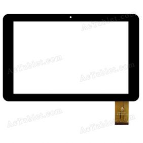 HK10DR2545-B-V01 Digitizer Glass Touch Screen Replacement for 10.1 Inch MID Tablet PC