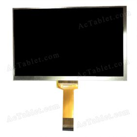 FPC070B3016 LCD Display HD Screen for 7 Inch Android Tablet PC 1024x600px 40Pin