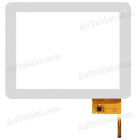 SLC09702A MSH Digitizer Glass Touch Screen Replacement for 9.7 Inch MID Tablet PC