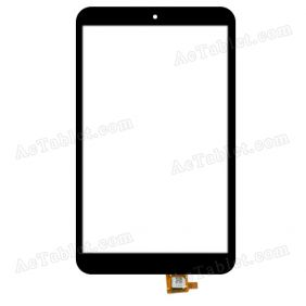 JDC.4151FPC-C Digitizer Glass Touch Screen Replacement for 8 Inch MID Tablet PC