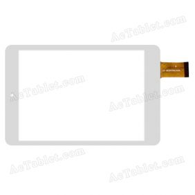 NJG078001GE0B Digitizer Glass Touch Screen Replacement for 7.85 Inch MID Tablet PC