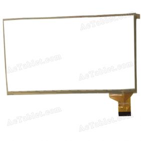 hsctp-444(268a)-7 Digitizer Glass Touch Screen Replacement for 7 Inch MID Tablet PC