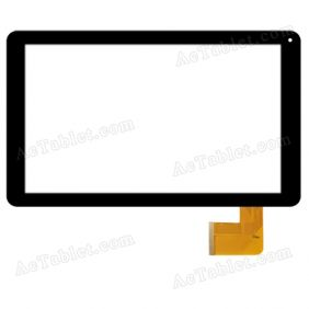 MF-817-101-3 FPC Digitizer Glass Touch Screen Replacement for 10.1 Inch MID Tablet PC
