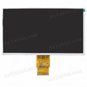 FPC70D5011_D1 LCD Display Screen Replacement for 7 Inch Android Tablet PC