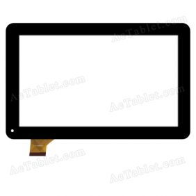YLD-CEGA723-FPC-A0 Digitizer Glass Touch Screen Replacement for 10.1 Inch MID Tablet PC