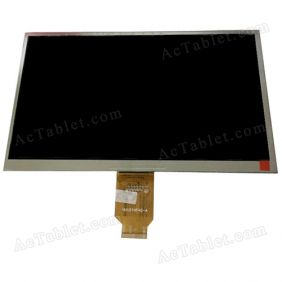 YH101HF40-A LCD Display Screen Replacement for 10.1 Inch Tablet PC