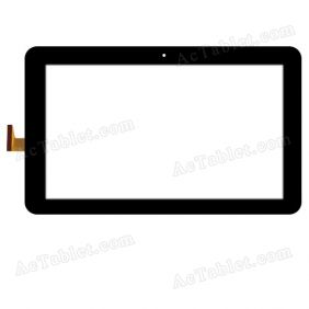 VTCP101A48-FPC-V1.0 Digitizer Glass Touch Screen Replacement for 10.1 Inch MID Tablet PC