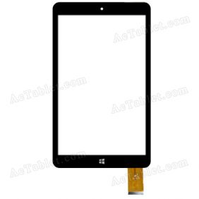 B80JG2382 Digitizer Glass Touch Screen Replacement for 8 Inch MID Tablet PC