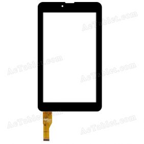 10112-0A4918A Digitizer Glass Touch Screen Replacement for 7 Inch MID Tablet PC