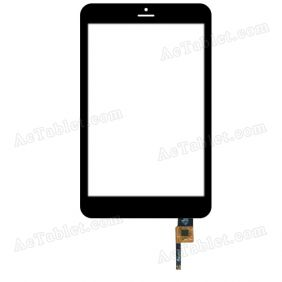 F800136B T80WXJC01A01 Digitizer Glass Touch Screen Replacement for 8 Inch MID Tablet PC