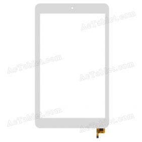 80701 0A5066C Digitizer Glass Touch Screen Replacement for 8 Inch MID Tablet PC