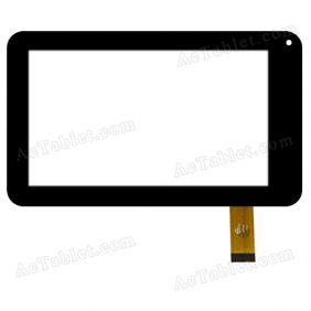 YLD-CCG7051-FPC-A0 Digitizer Glass Touch Screen Replacement for 7 Inch MID Tablet PC