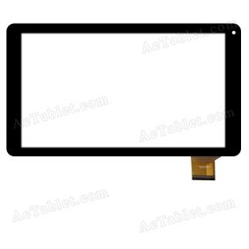 FPC-CY101J106-00 Digitizer Glass Touch Screen Replacement for 10.1 Inch MID Tablet PC