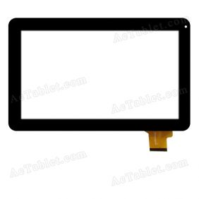 NJG101034AEG0B-VO Digitizer Glass Touch Screen Replacement for 10.1 Inch MID Tablet PC