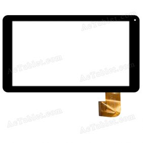 XN1331V1 Digitizer Glass Touch Screen Replacement for 10.1 Inch MID Tablet PC
