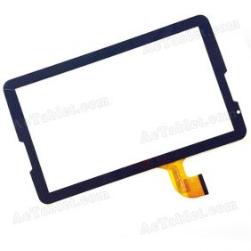 RS-MX106-V1.0 Digitizer Glass Touch Screen Replacement for 10.1 Inch MID Tablet PC