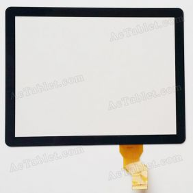 A130214E1-V1.0 Digitizer Glass Touch Screen Replacement for 8 Inch MID Tablet PC